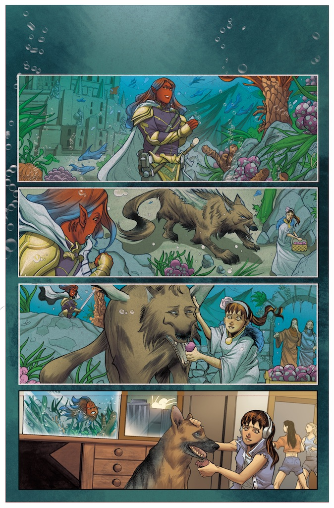 First Look: Animosity Tales coming May 4th from AfterShock Comics