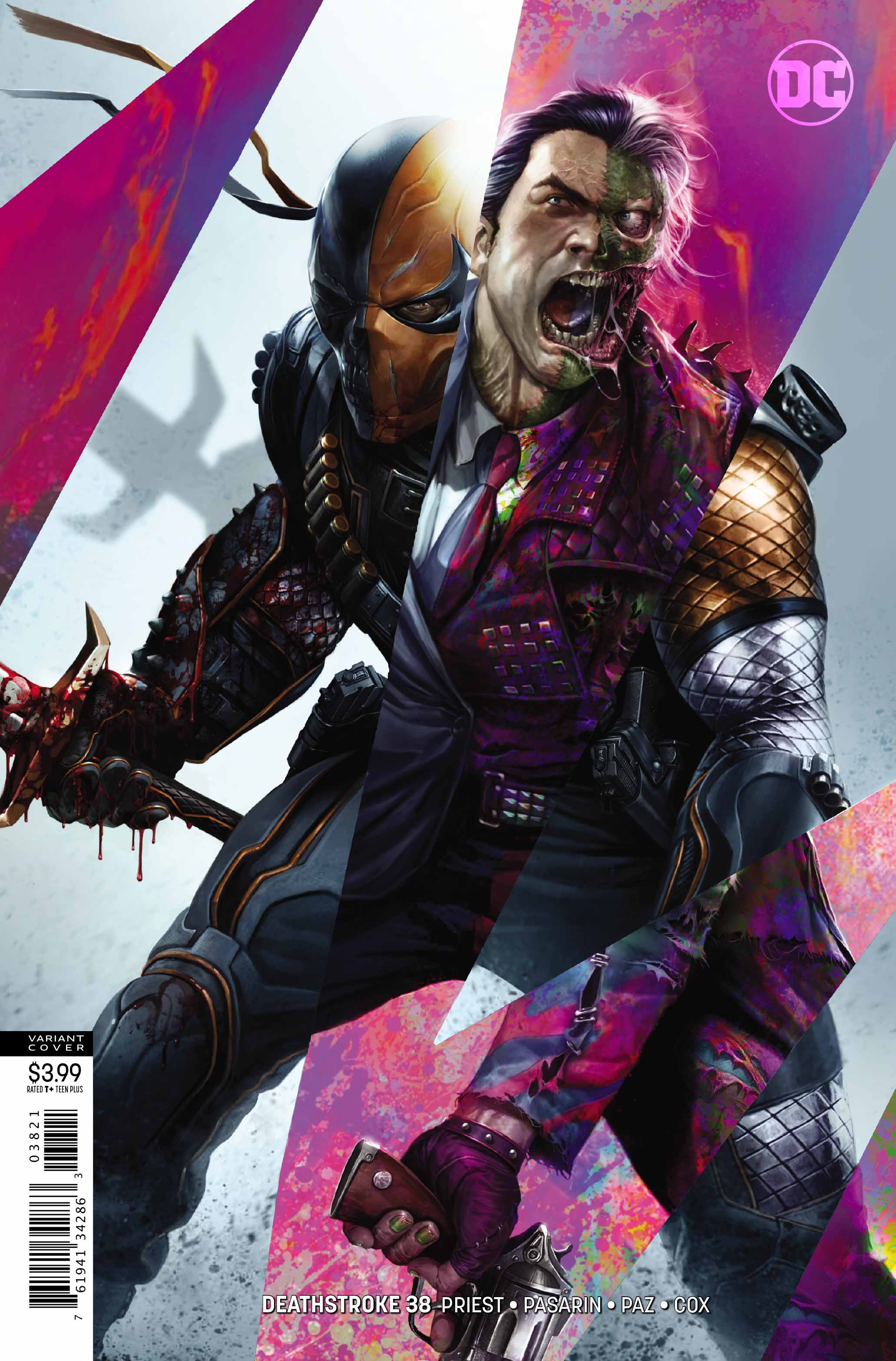 Deathstroke #38 Review