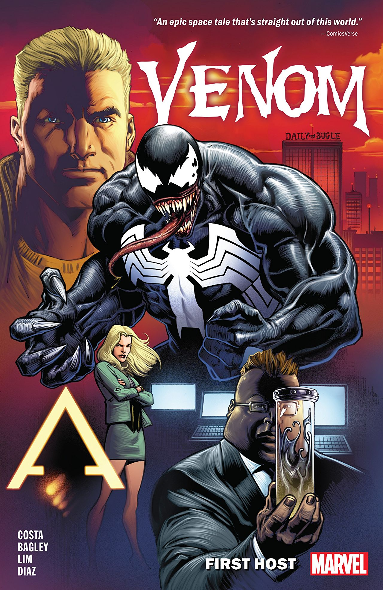 'Venom: First Host' TPB Review