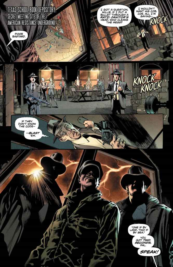 Freedom Fighters #1 review: The return