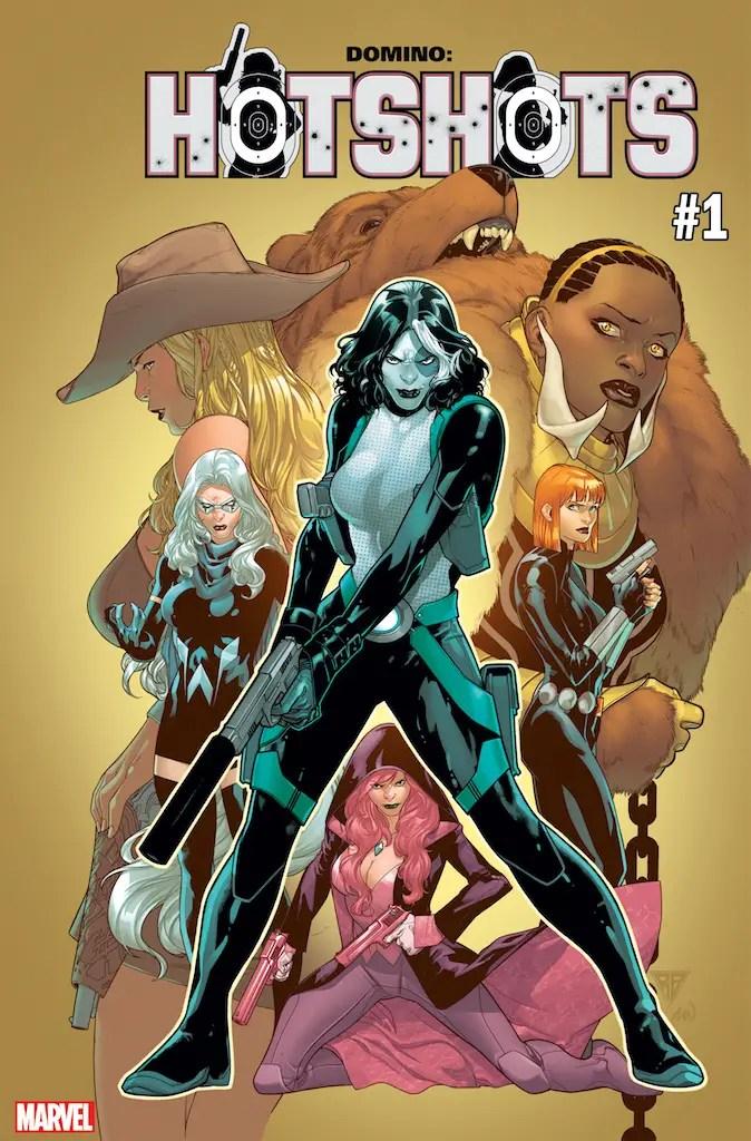 First Look: Domino: Hotshots #1