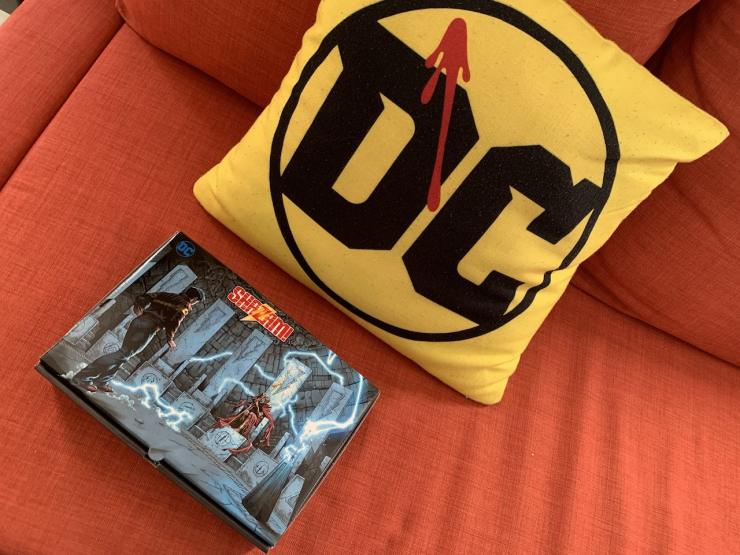 Check out the 'Shazam!' gift DC Comics is giving out to press this week.