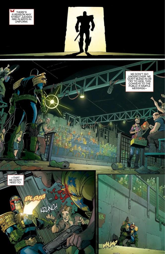 Judge Dredd: Under Siege review
