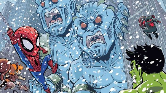 Marvel Preview: Marvel Super Hero Adventures: Captain Marvel Vs. The Frost Giants #1