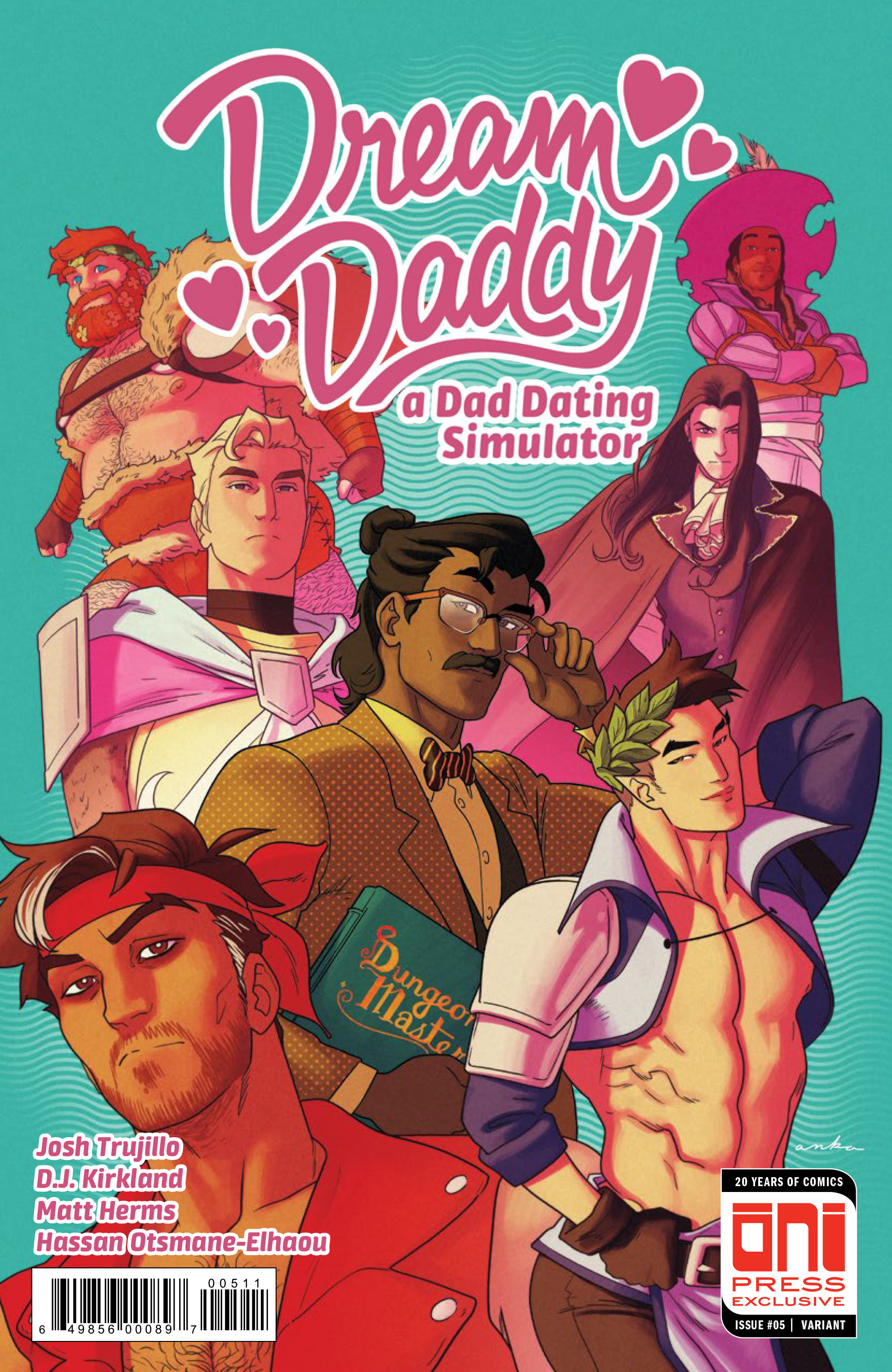Dream Daddy #5 Review