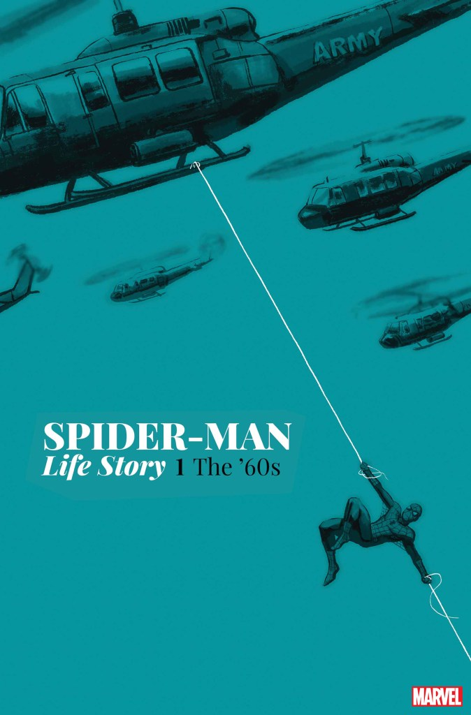 "Marvel asks fans to ""swing through time"" with 'Spider-Man: Life Story'"
