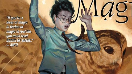 Books of Magic #3 Review