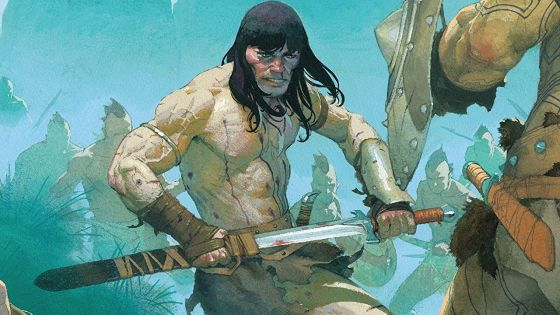 Conan is the hunter in this thought-provoking issue.