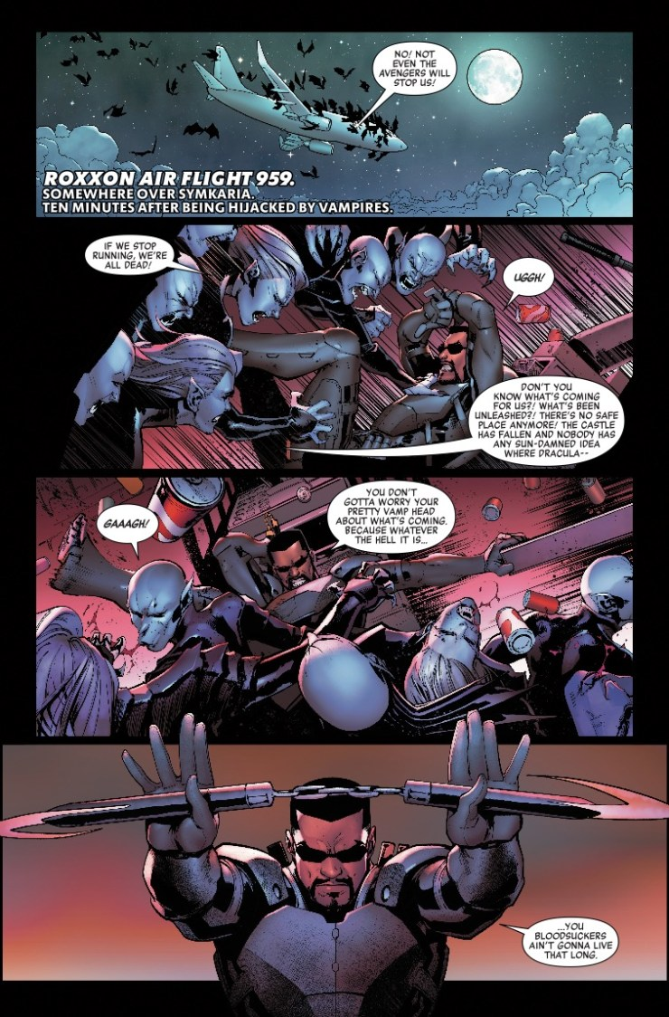 The Avengers vs. Dracula vs. the Legion of the Unliving...who ya got?