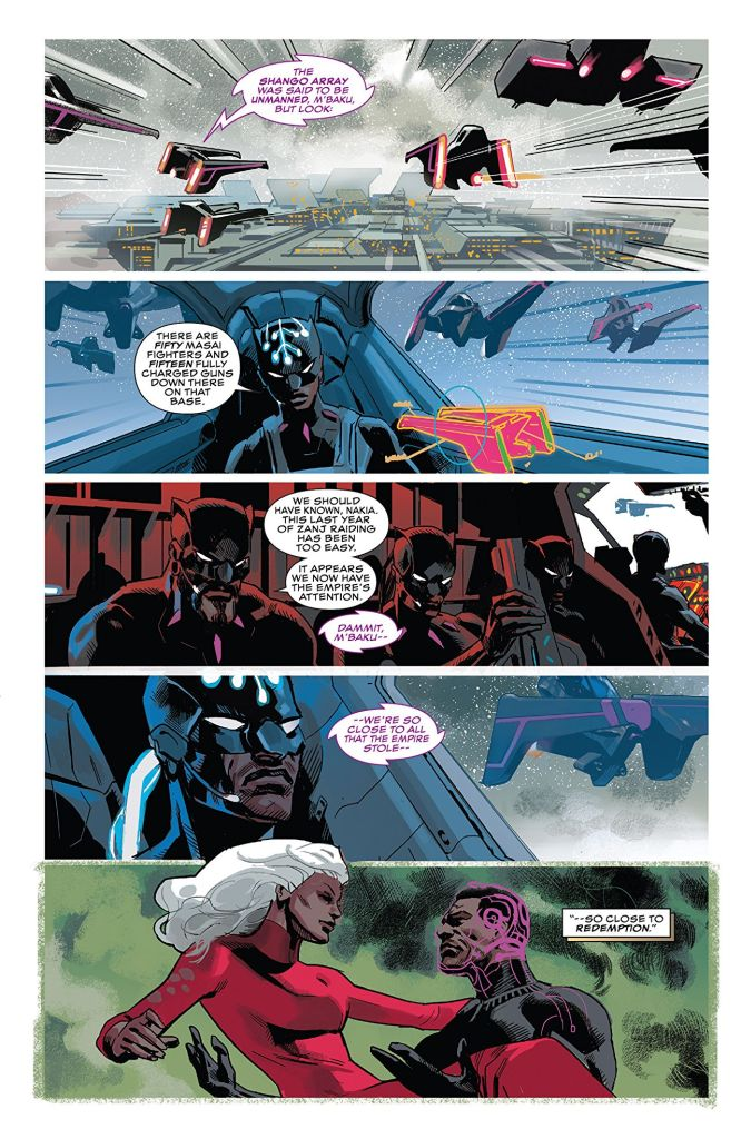 Black Panther Book 6: The Intergalactic Empire of Wakanda Part One review