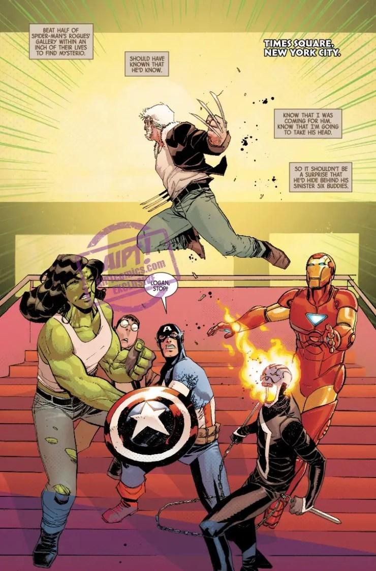 EXCLUSIVE Marvel Preview: Dead Man Logan #3
