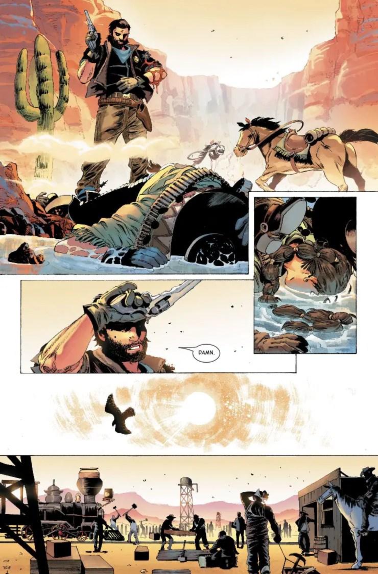 Marvel Preview: The Gunhawks #1