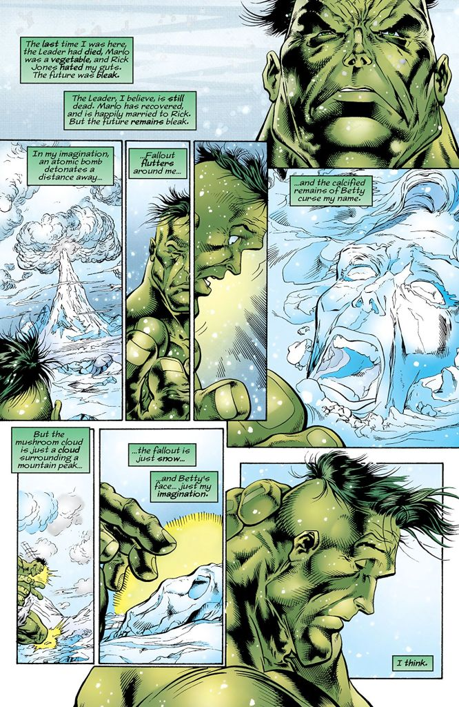 Ghosts of the Future is a must have for Hulk fans, but the '90s wackiness may dissuade some readers.