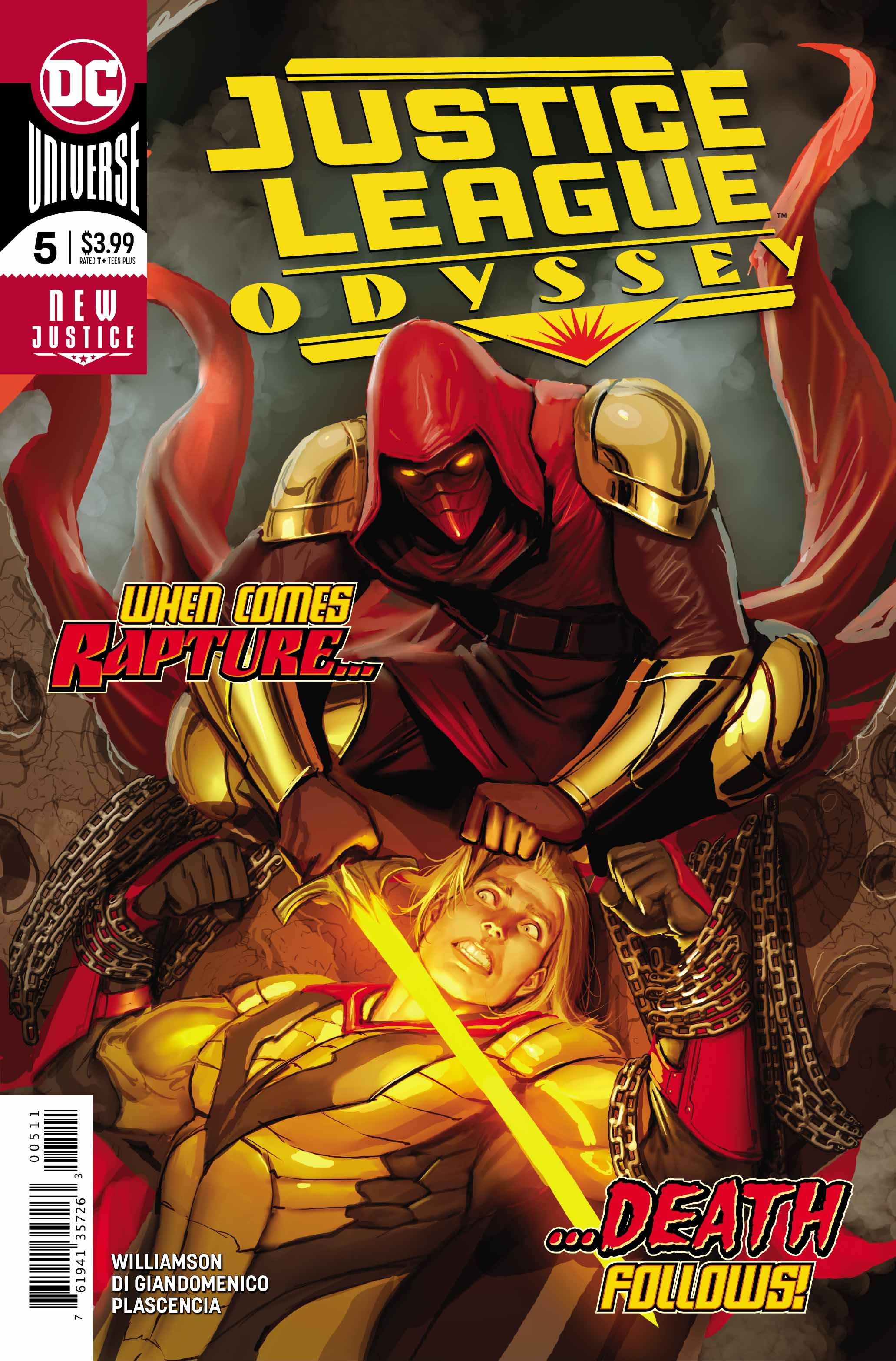 Justice League Odyssey #5 Review