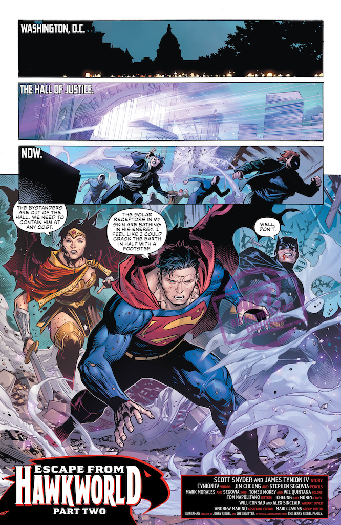 [EXCLUSIVE] DC Preview: Justice League #15