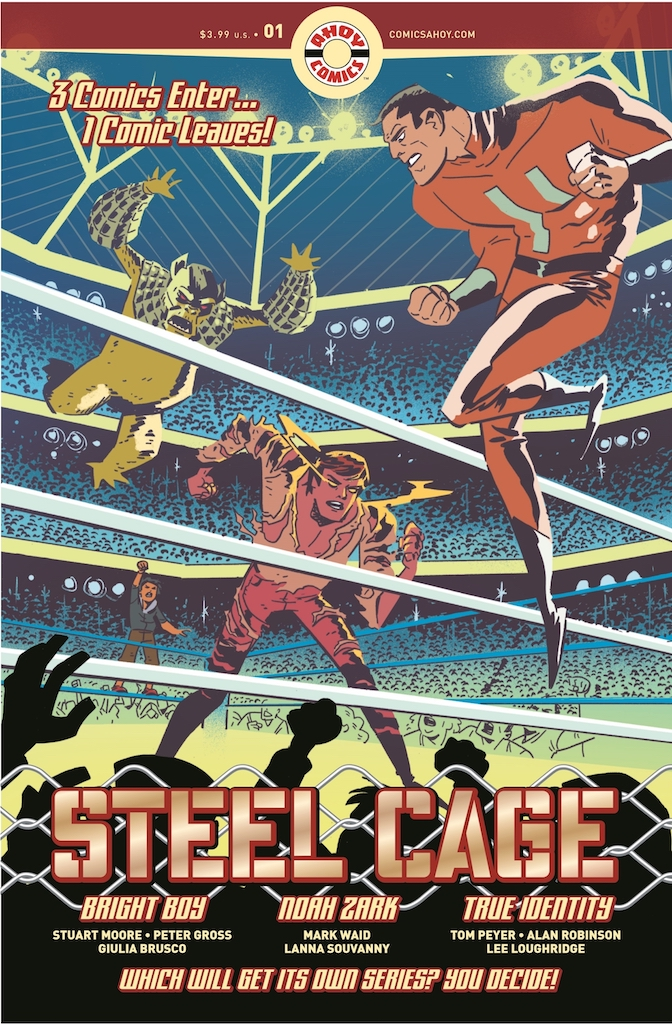 AHOY Comics announces new series new wave of series including 'Bronze Age Boogie'