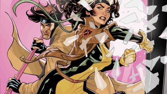 Mojo plays Cupid with Gambit and Rogue in 'Mr. and Mrs. X' #7