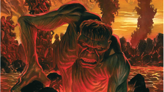 Al Ewing sets up a tantalizing new glimpse into a gamma powered afterlife.