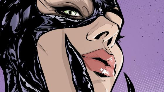 Gotham comes to Catwoman in the form of the Penguin, fresh from his most recent tussle with Batman.