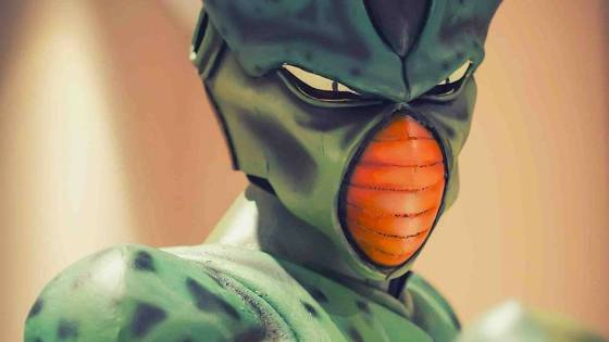 Dragon Ball: Cell cosplay by D-Jacko