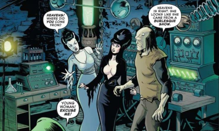 Elvira, Mistress of the Dark #4 review