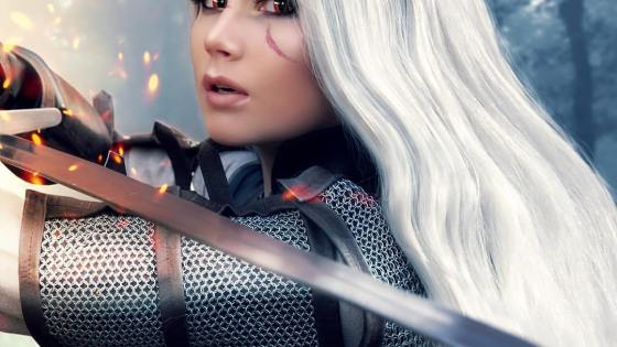 The Witcher: Female Geralt cosplay by Oichi