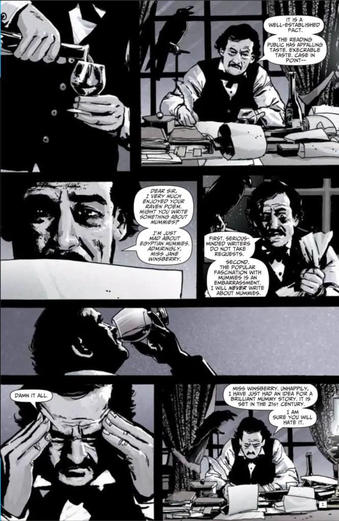 Edgar Allen Poe's Snifter of Terror #4 Review
