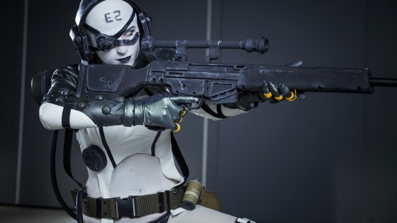 Metal Gear Solid V: The Phantom Pain: Skulls Camouflage Unit cosplay by Kate