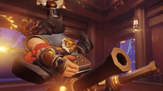 Ho ho ho, alright! A new Torbjorn skin!