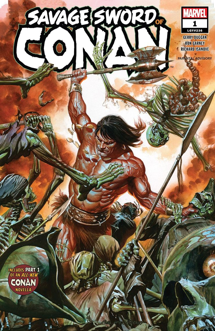 EXCLUSIVE Marvel Preview: Savage Sword of Conan #1