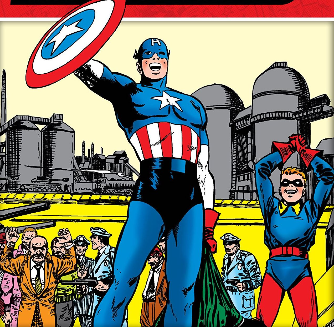 'Decades: Marvel in the 50s - Captain America Strikes!' review
