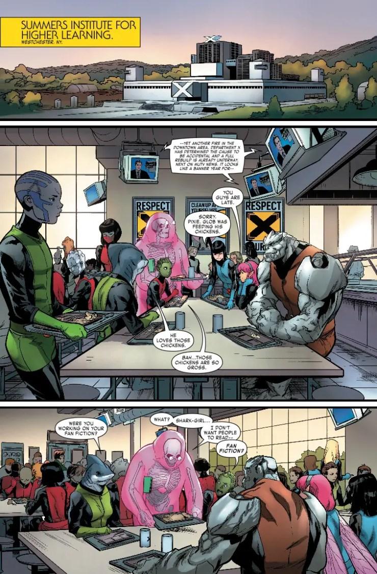 Age of X-Man: NextGen #1 Review