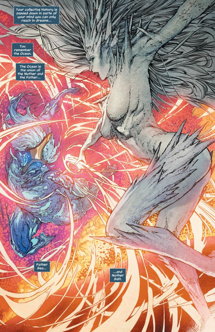 Aquaman #45 review: Creation Myth