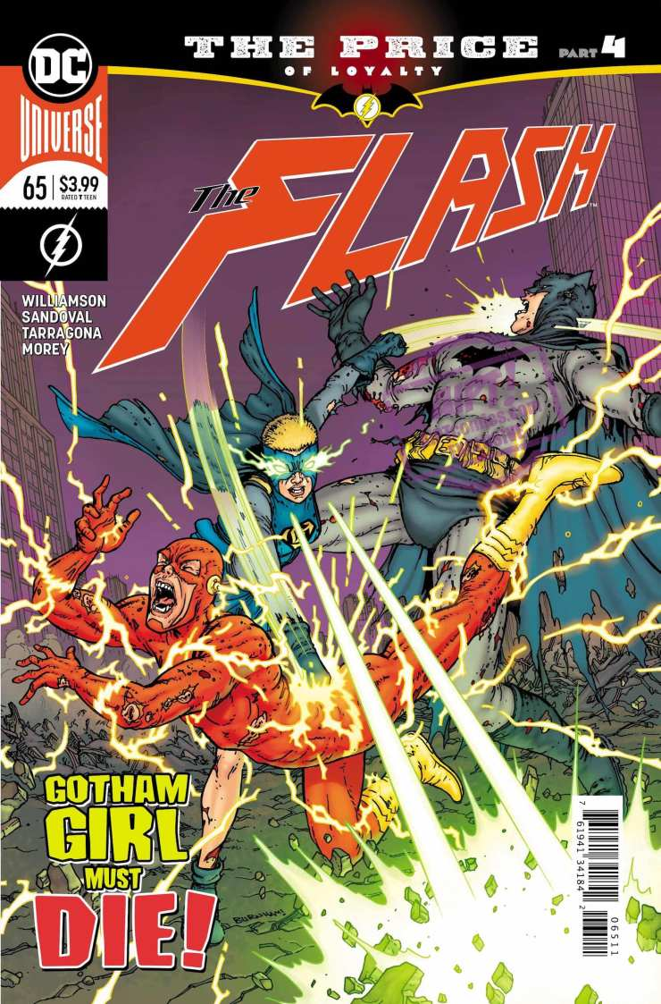 EXCLUSIVE DC Preview: The Flash #65