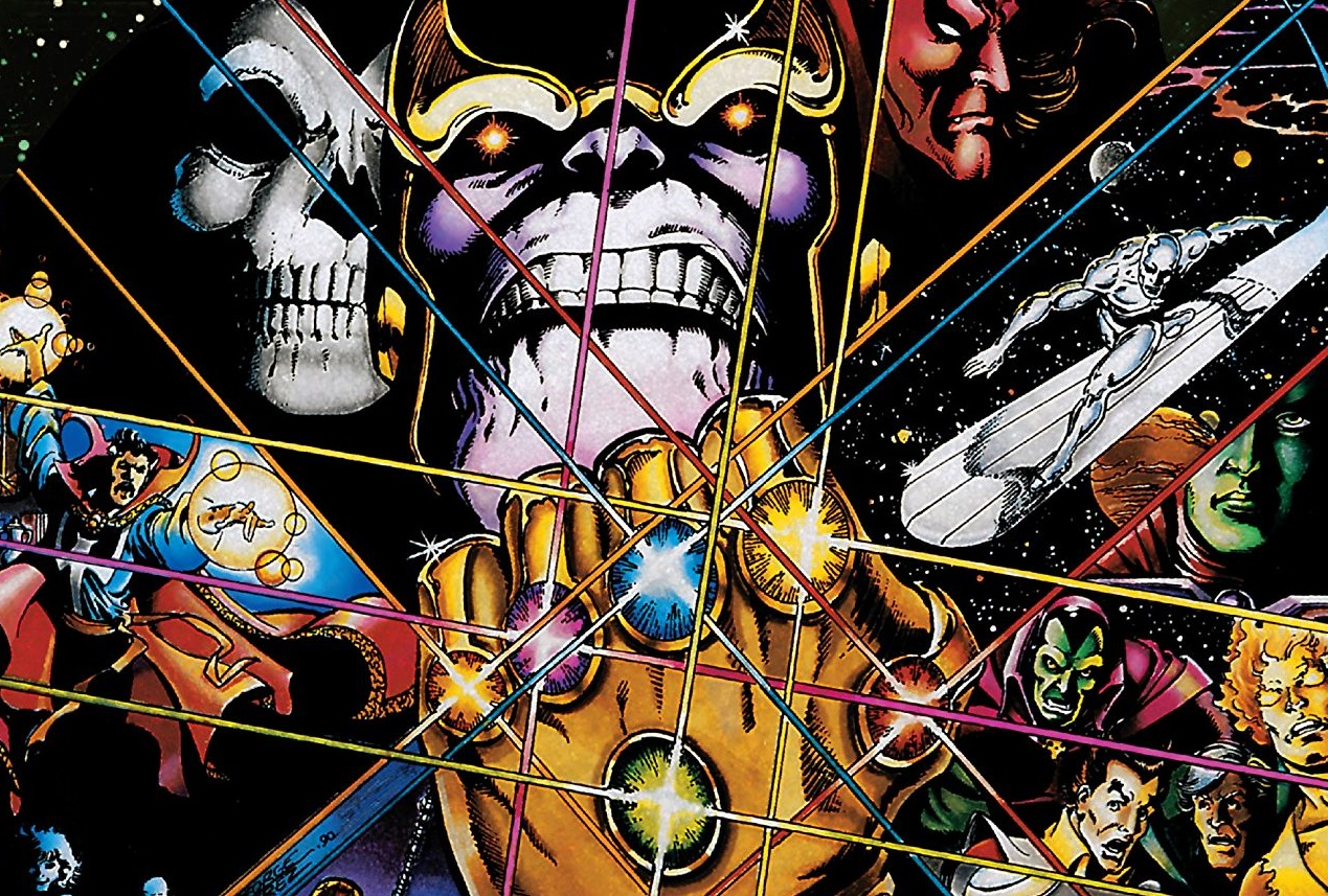 The Infinity Gauntlet Deluxe Edition TPB Review
