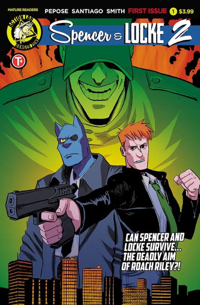 Coping methods in comic storytelling: David Pepose talks Spencer and Locke 2