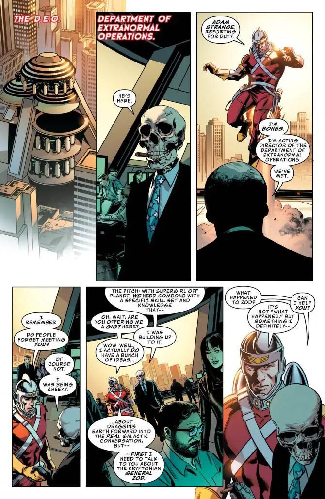 Action Comics #1008 review: The D.E.O.