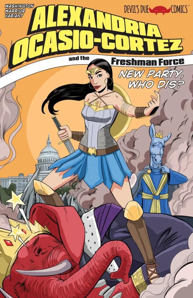 Rep. Alexandria Ocasio-Cortez lands her own comic book