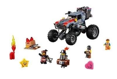 LEGO Set Build: Emmet & Lucy's Escape Buggy