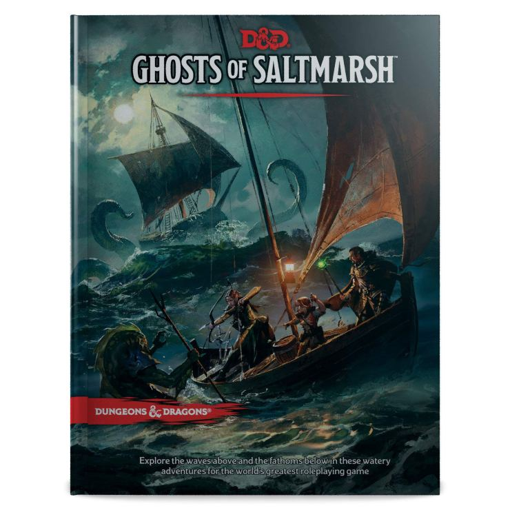 Dungeons & Dragons' next book is 'Ghosts of Saltmash'