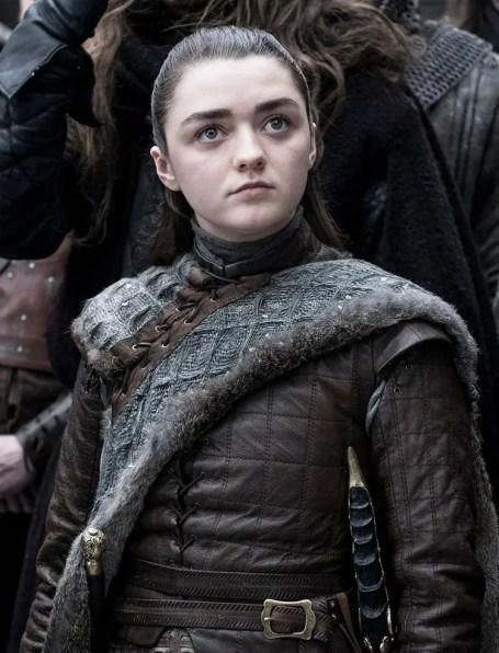 Maisie Williams as Arya Stark – Photo: Helen Sloan/HBO