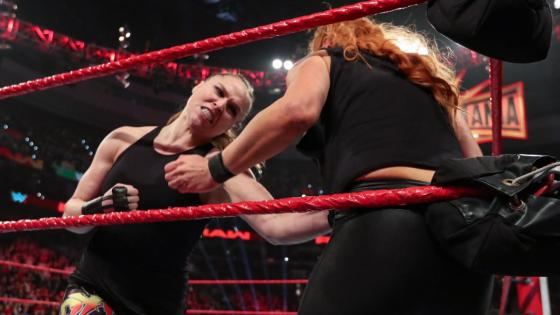 The Road to WrestleMania has been surprisingly uneventful -- until last night.