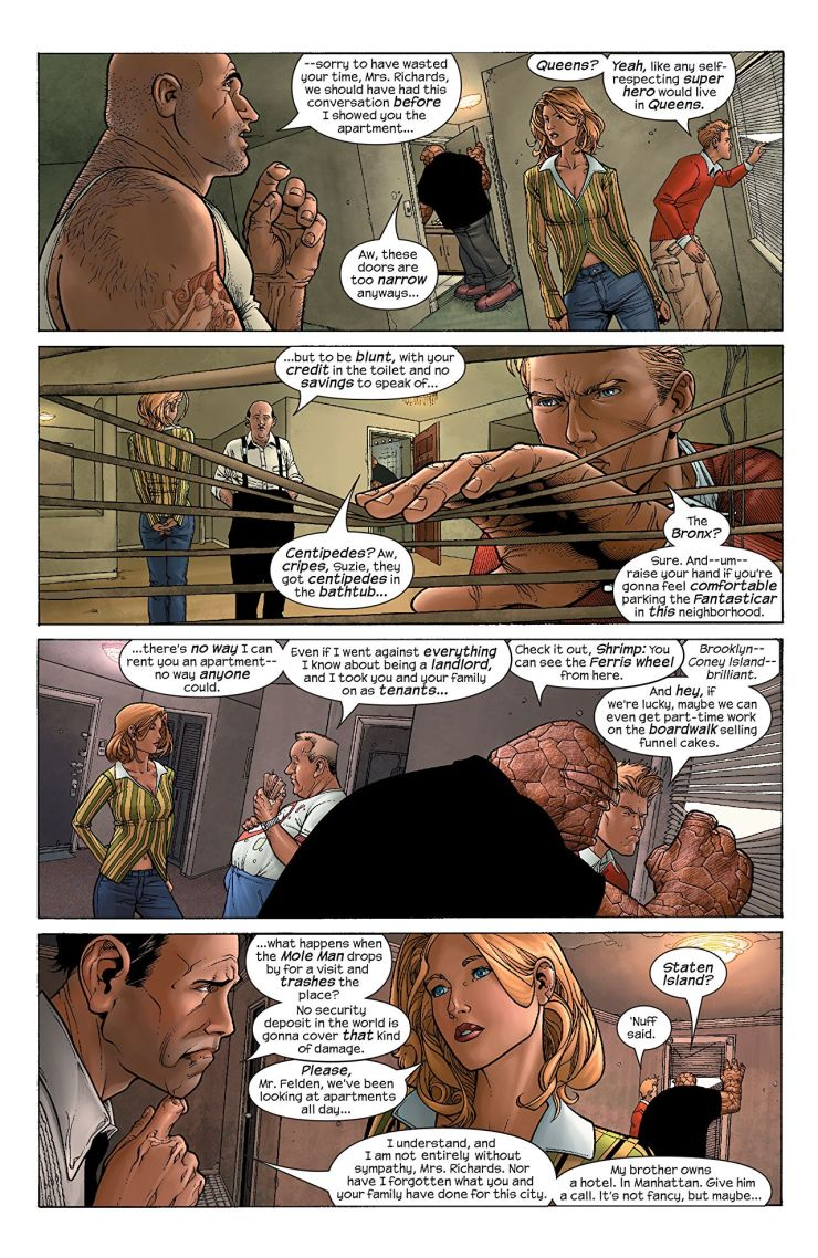Marvel Knights Fantastic Four by Aguirre-Sacasa, McNiven & Muniz: The Complete Collection Vol. 1 Review