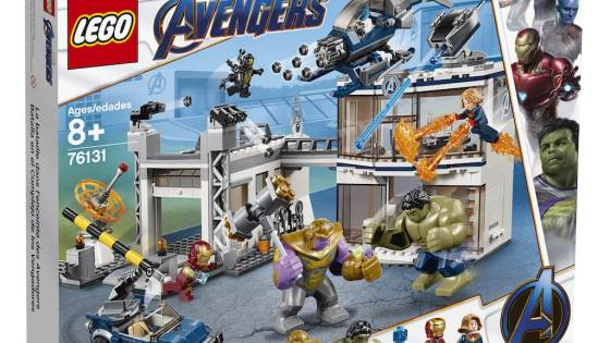 New 'Avengers: Endgame' info emerges thanks to LEGO's Marvel set reveals