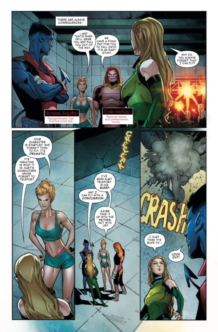 Marvel Preview: Age of X-Man: The Amazing Nightcrawler #2