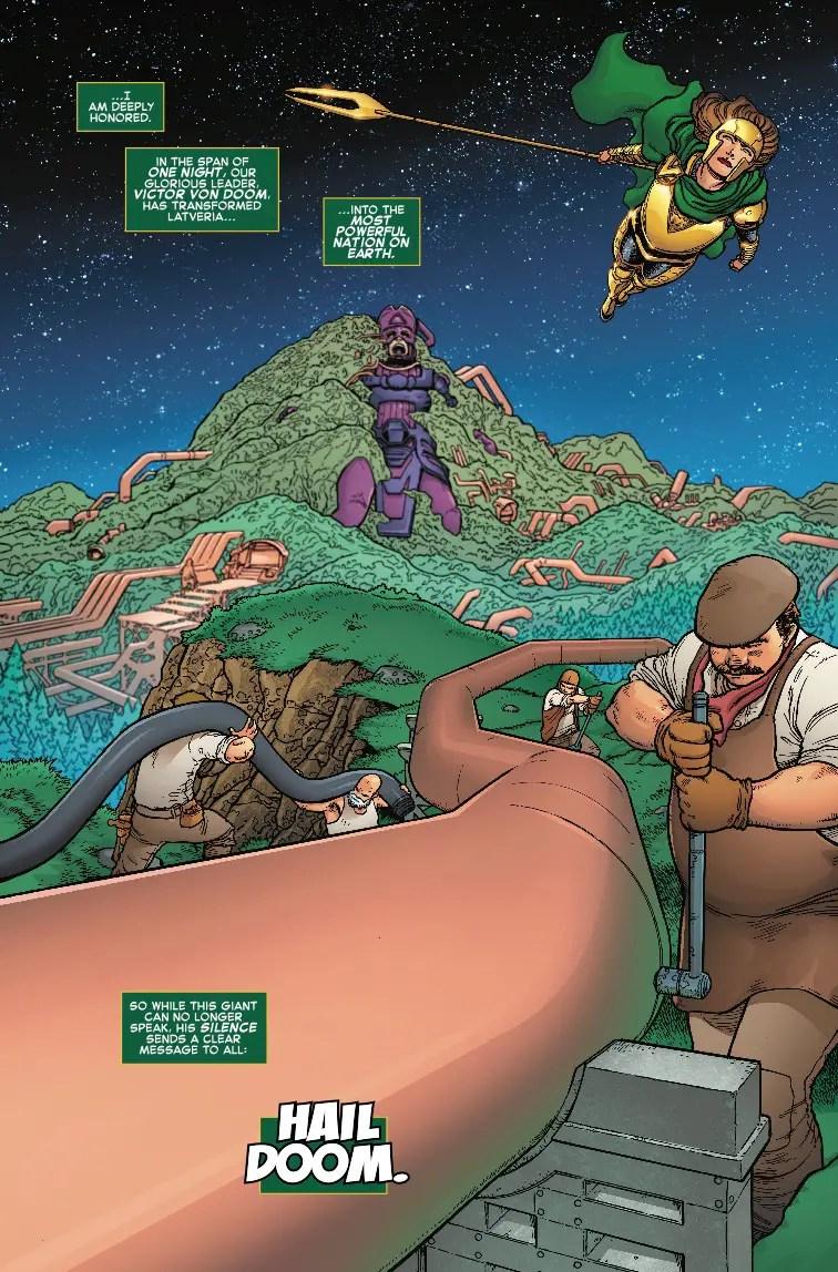 Fantastic Four #8 Review