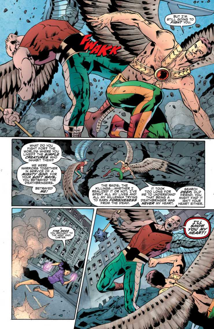 Hawkman #10 review: The epiphany