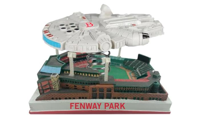 SWiPT! Giveaway: Official Boston Red Sox Star Wars Day Millennium Falcon