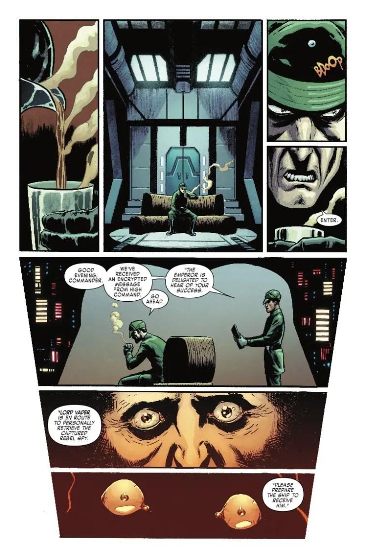 Marvel Preview: Star Wars: Vader - Dark Visions #2