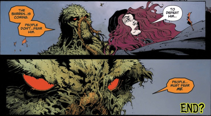 Scott Snyder confirms a Swamp Thing story with Greg Capullo is in the cards. Maybe